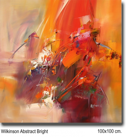 Wilkinson Abstract Bright 100x100