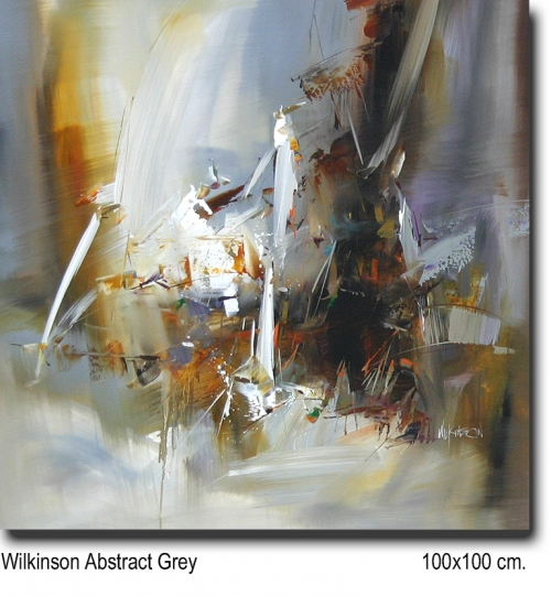 Wilkinson Abstract Grey 100x100