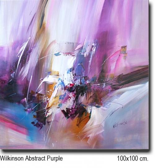 Wilkinson Abstract Purple 100x100
