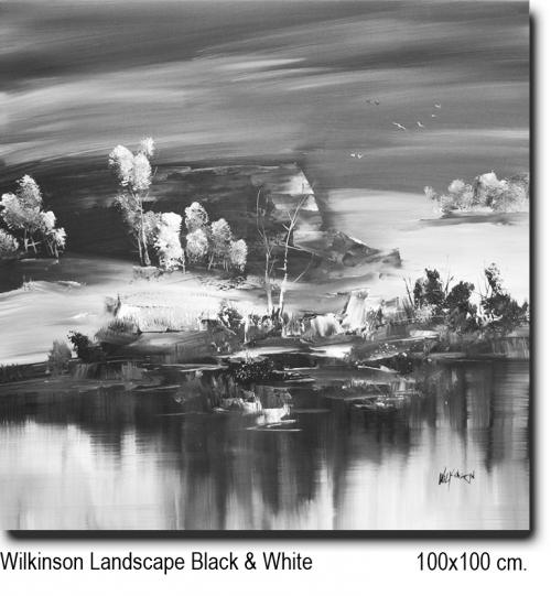 Wilkinson Landscape Black & White 100x100