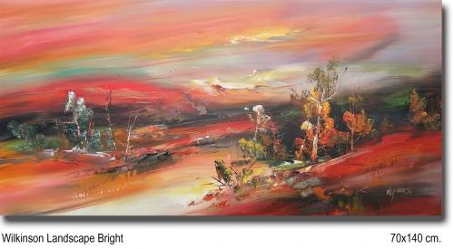 Wilkinson Landscape Bright 70x140cm.