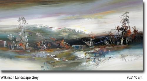 Wilkinson Landscape Grey 70x140