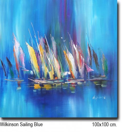 Wilkinson Sailing Blue 100x100