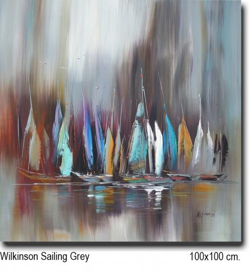 Wilkinson Sailing Grey 100x100
