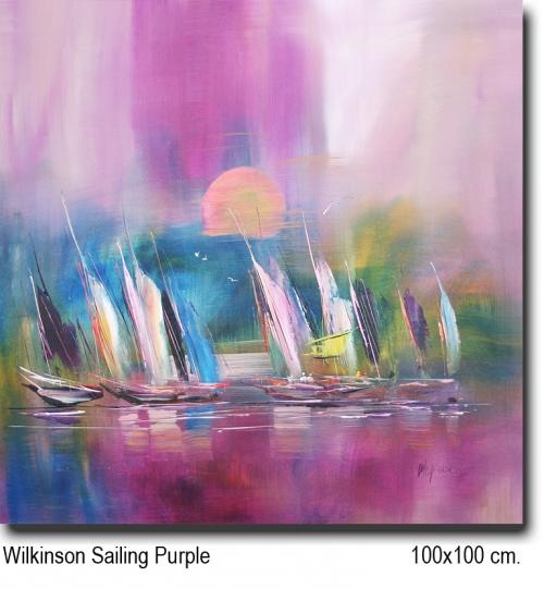 Wilkinson Sailing Purple 100x100