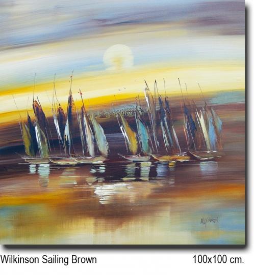 Wilkinson Sailing brown 100x100